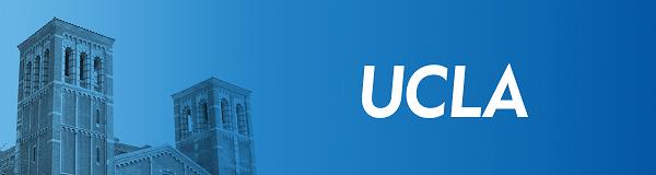 UCLA blue banner